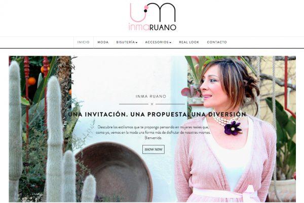 En PuntoJS Estudio Creativo hemos creado la imagen de marca, ecommerce y RRSS de Inma Ruano