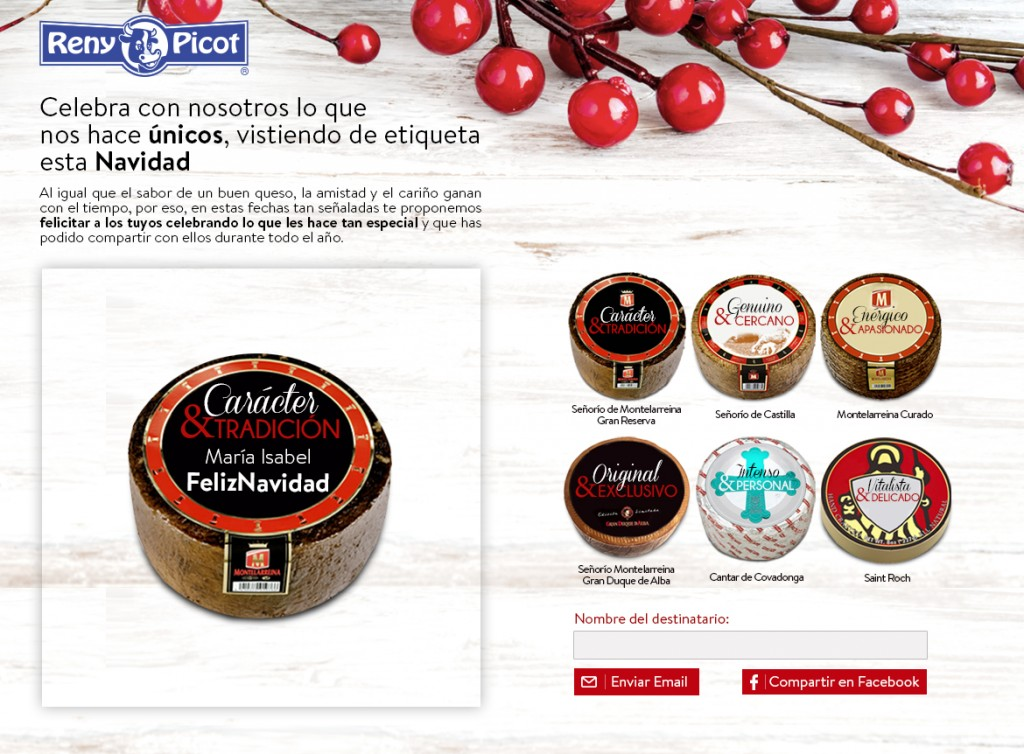 Estrategia de marketing online para Reny Picot