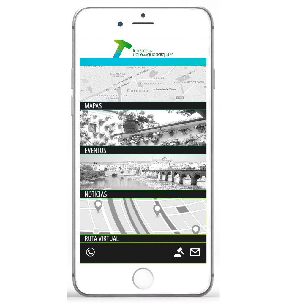 Desarrollo de app - Turismo Valle del Guadalquivir - PuntoJS