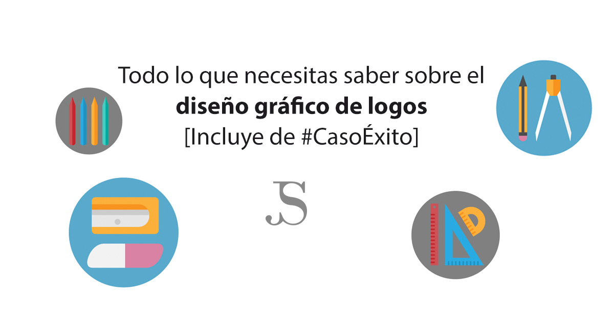 Diseño gráfico de logos: todo lo que necesitas saber [CasoÉxito]