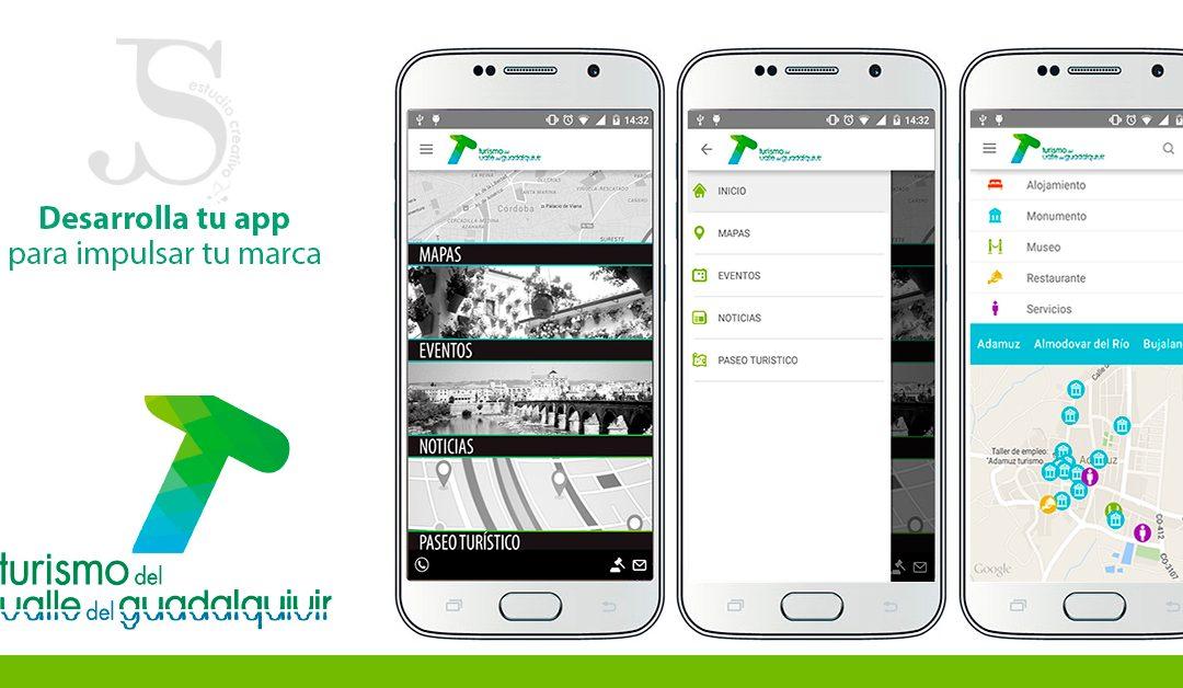 Desarrollo de App Oficial de Turismo del Valle del Guadalquivir – PuntoJS