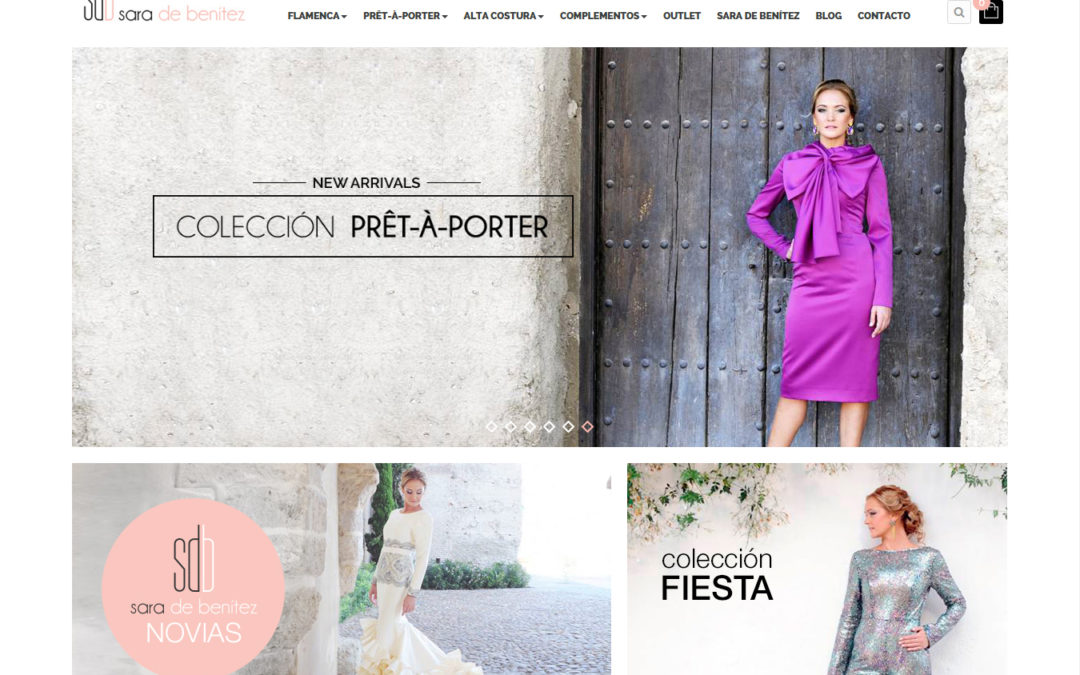 El e-commerce está de moda: PuntoJS ha encontrado la mejor combinación para los diseños de Sara de Benítez desarrollando su nueva tienda online