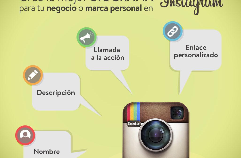 Cómo crear la mejor biografía en Instagram para tu marca
