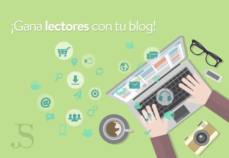 gana lectores con tu blog